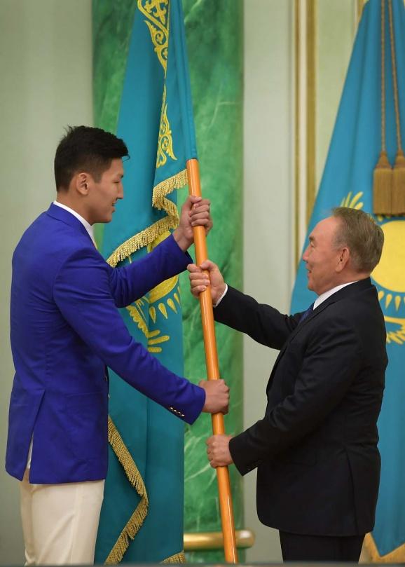 Знамя сборной Казахстана на Олимпиаде в Рио понесёт Руслан Жапаров