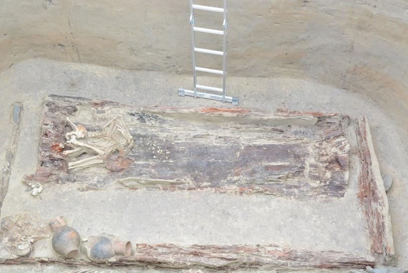 В кургане захоронена предположительно сакская принцесса