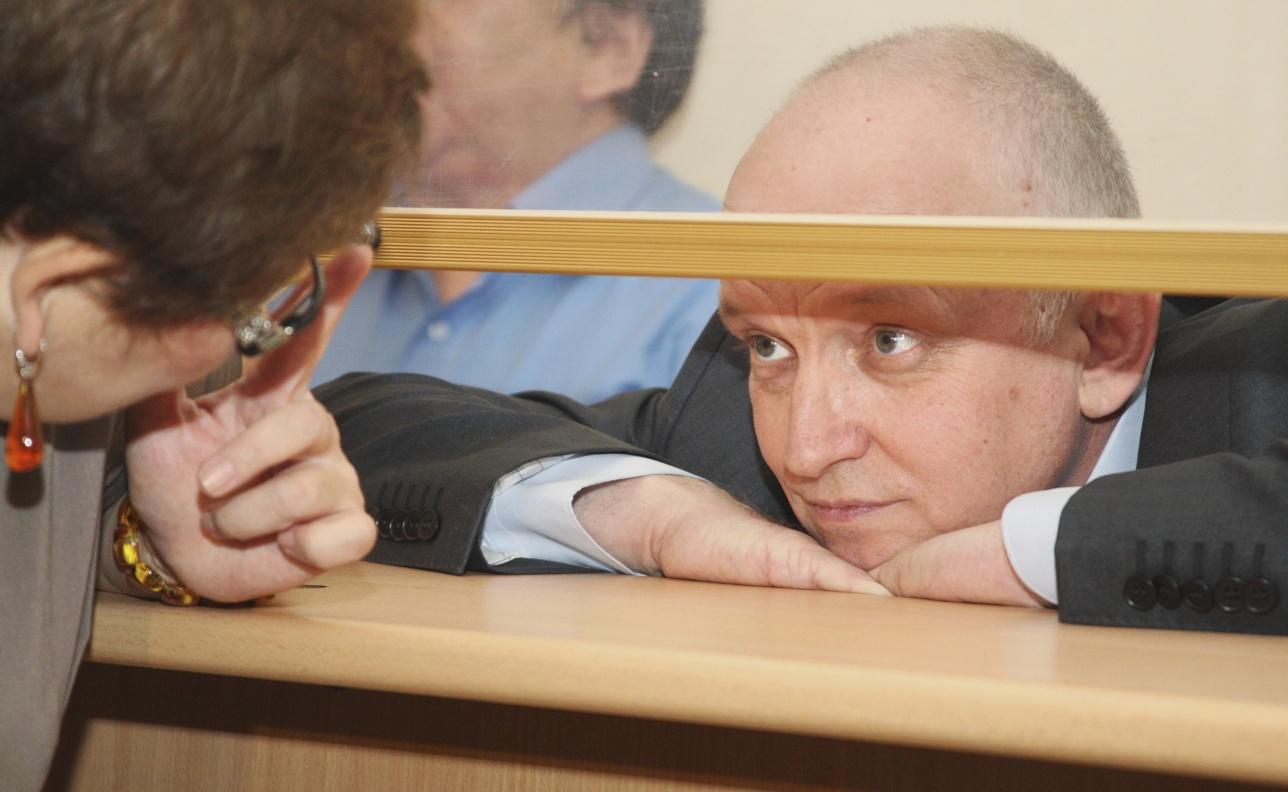 Владимир Козлов на суде в Актау, 8 октября, 2012 года