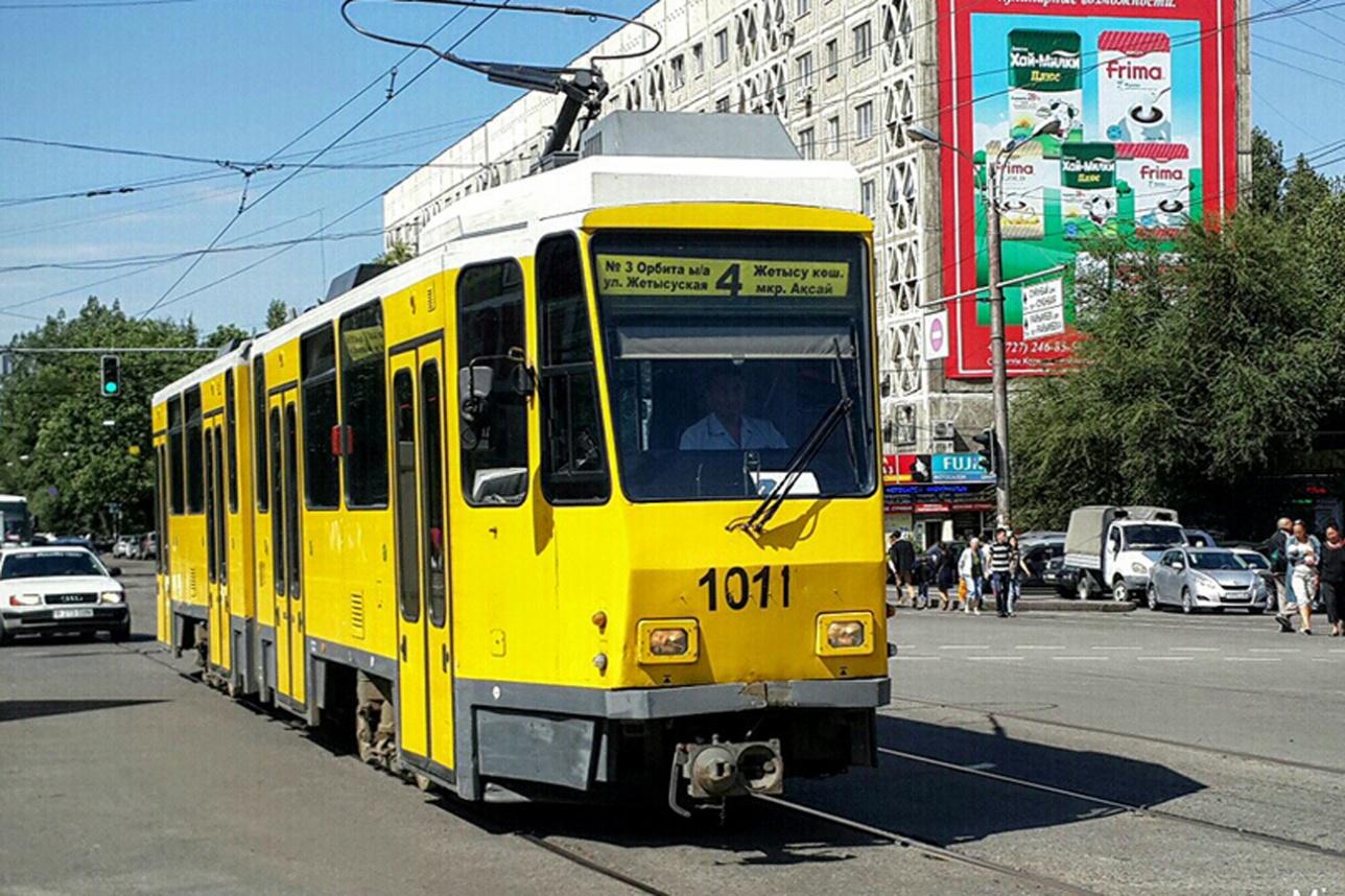 В Алматы о таких трамваях можно смело позабыть