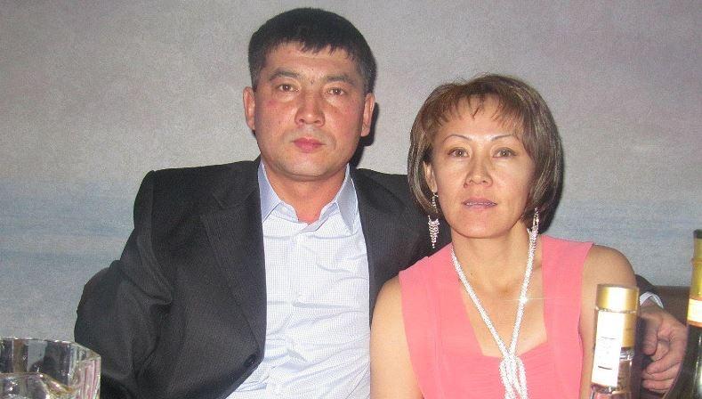 Куанышбек и Азиза Кадрадины