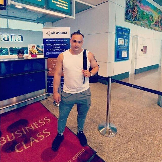 Илья Ильин летит в Рио-де-Жанейро