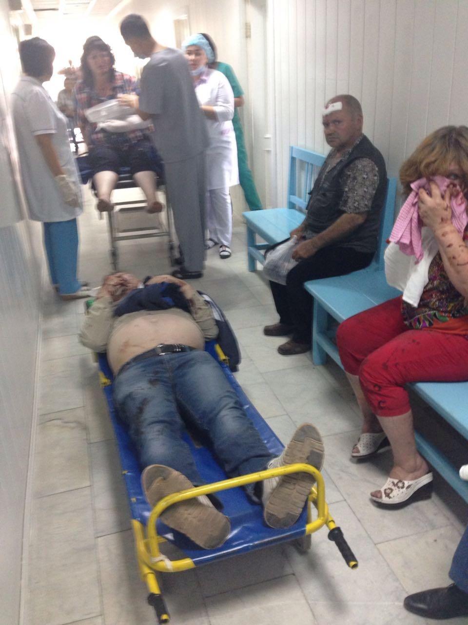 Двое пострадавших находятся в тяжёлом состоянии