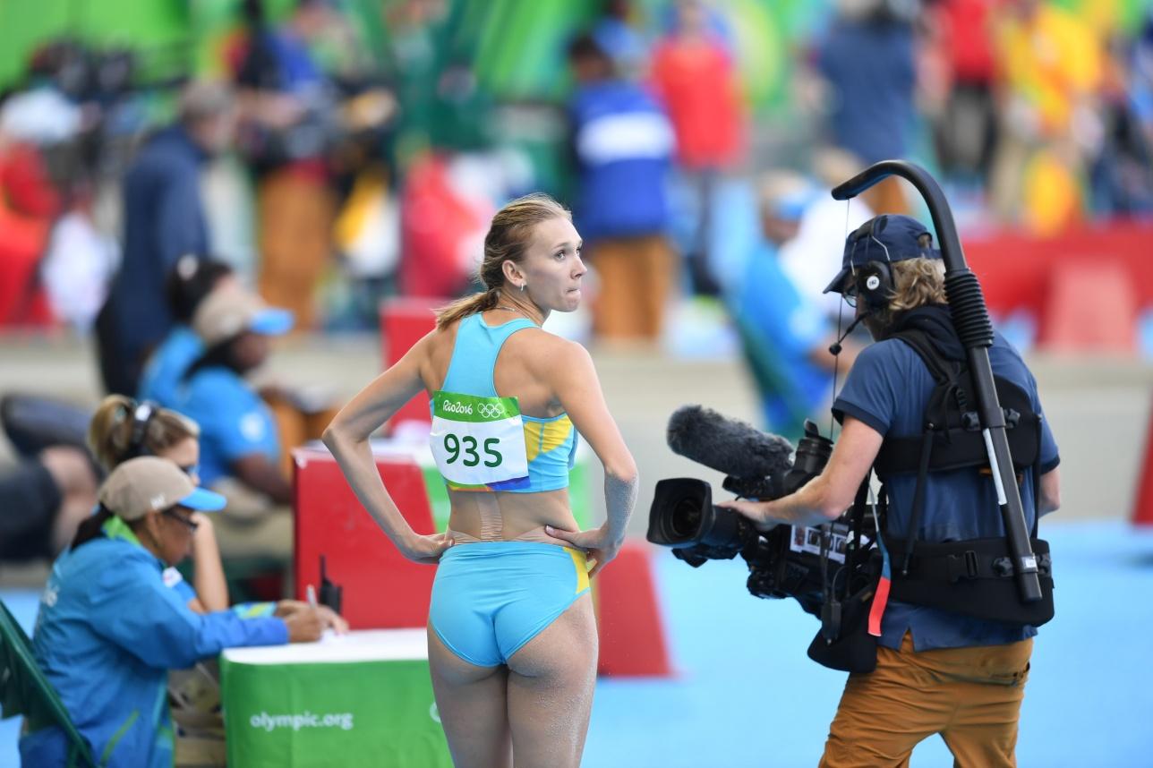 Для знаменитой легкоатлетки эта Олимпиада стала уже третьей в карьере