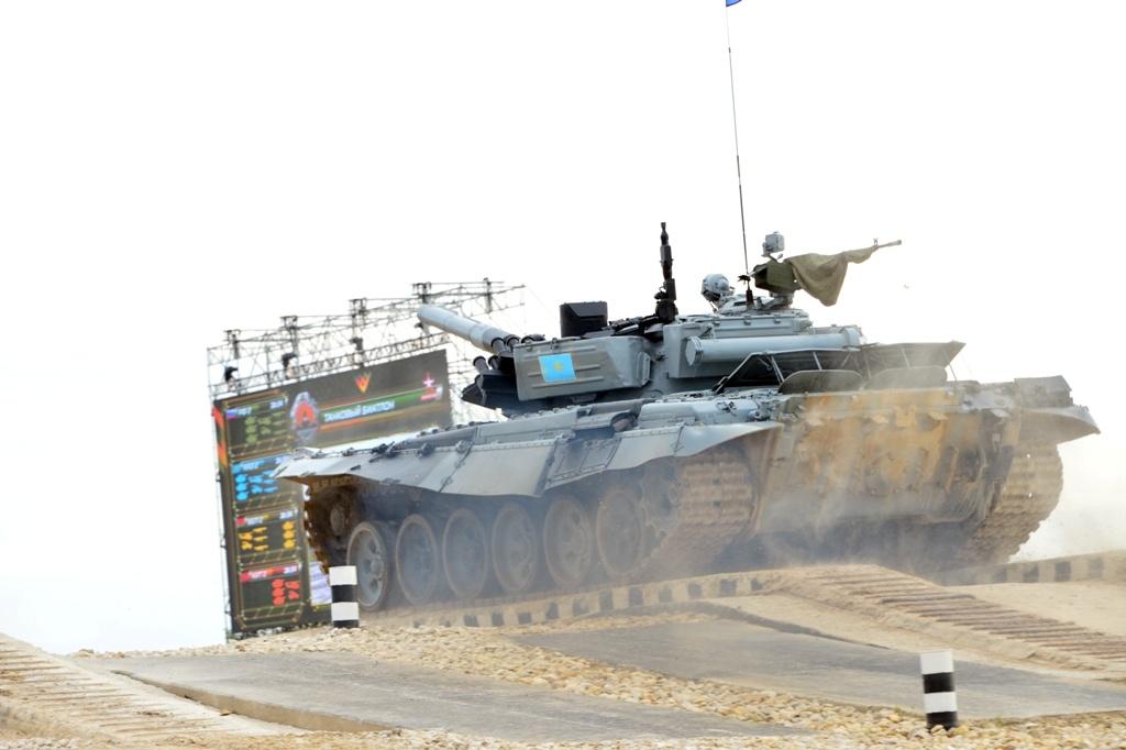 """В """"Танковом биатлоне"""" наши военные заняли третье место"""