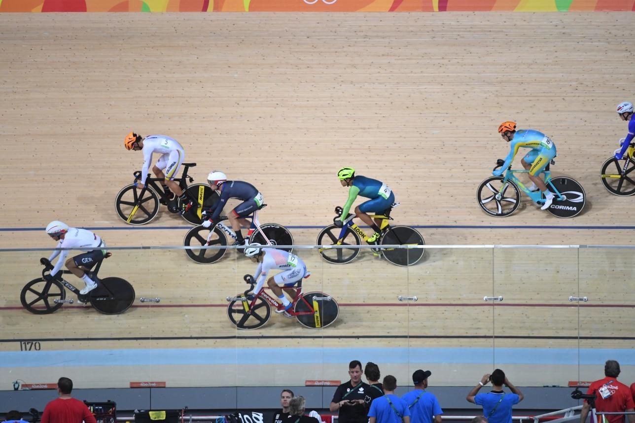 Трековые гонки на Олимпиаде