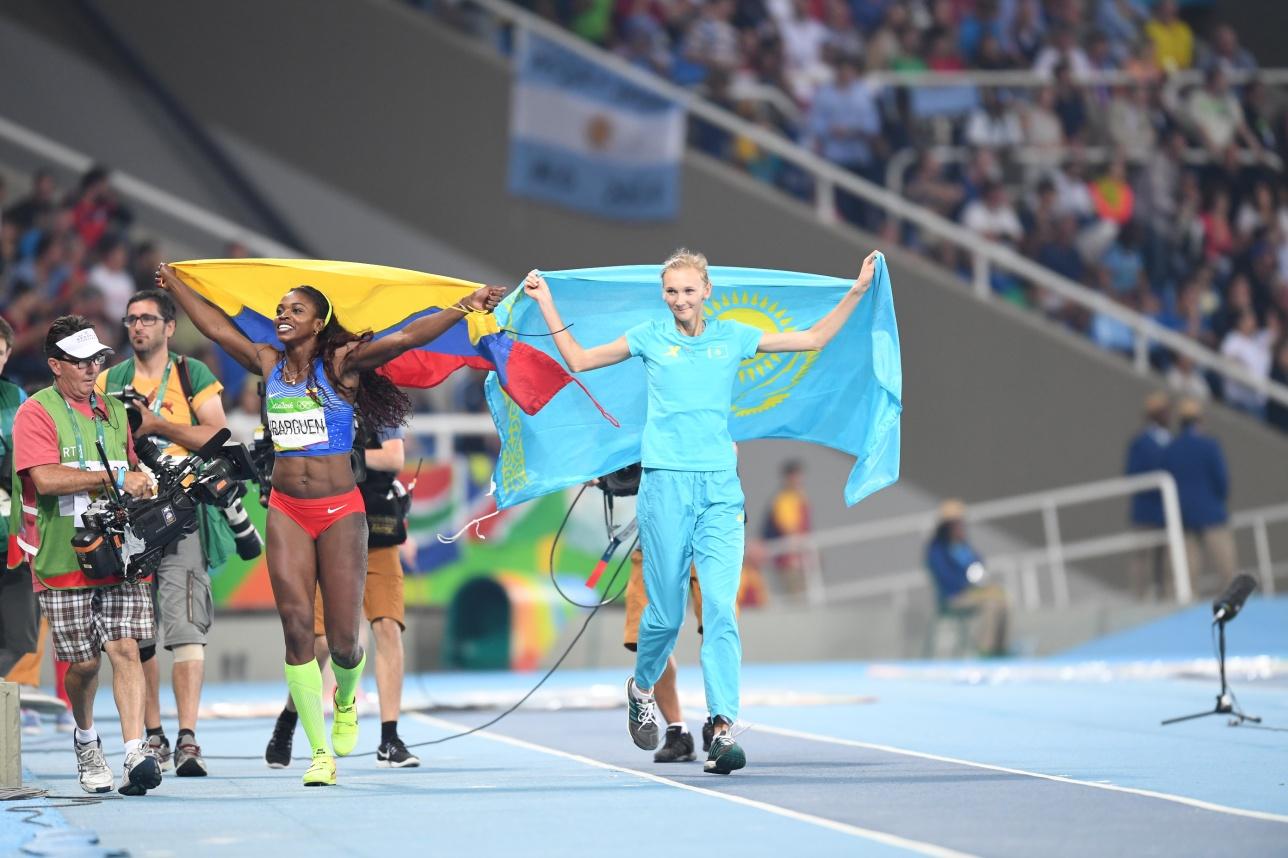 Парад победительниц Олимпиады
