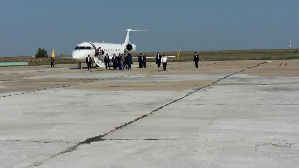 Кариму Масимову показали взлётную полосу семейского аэропорта
