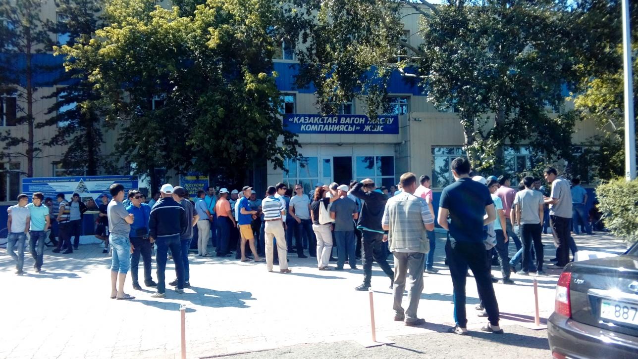 Рабочие в Экибастузе снова не получили свои кровные