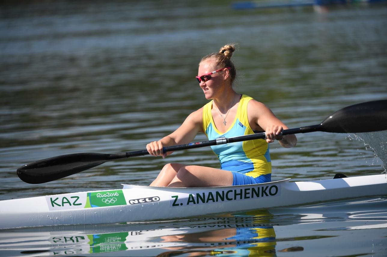 Зоя Ананченко хорошо выступает на Олимпиаде