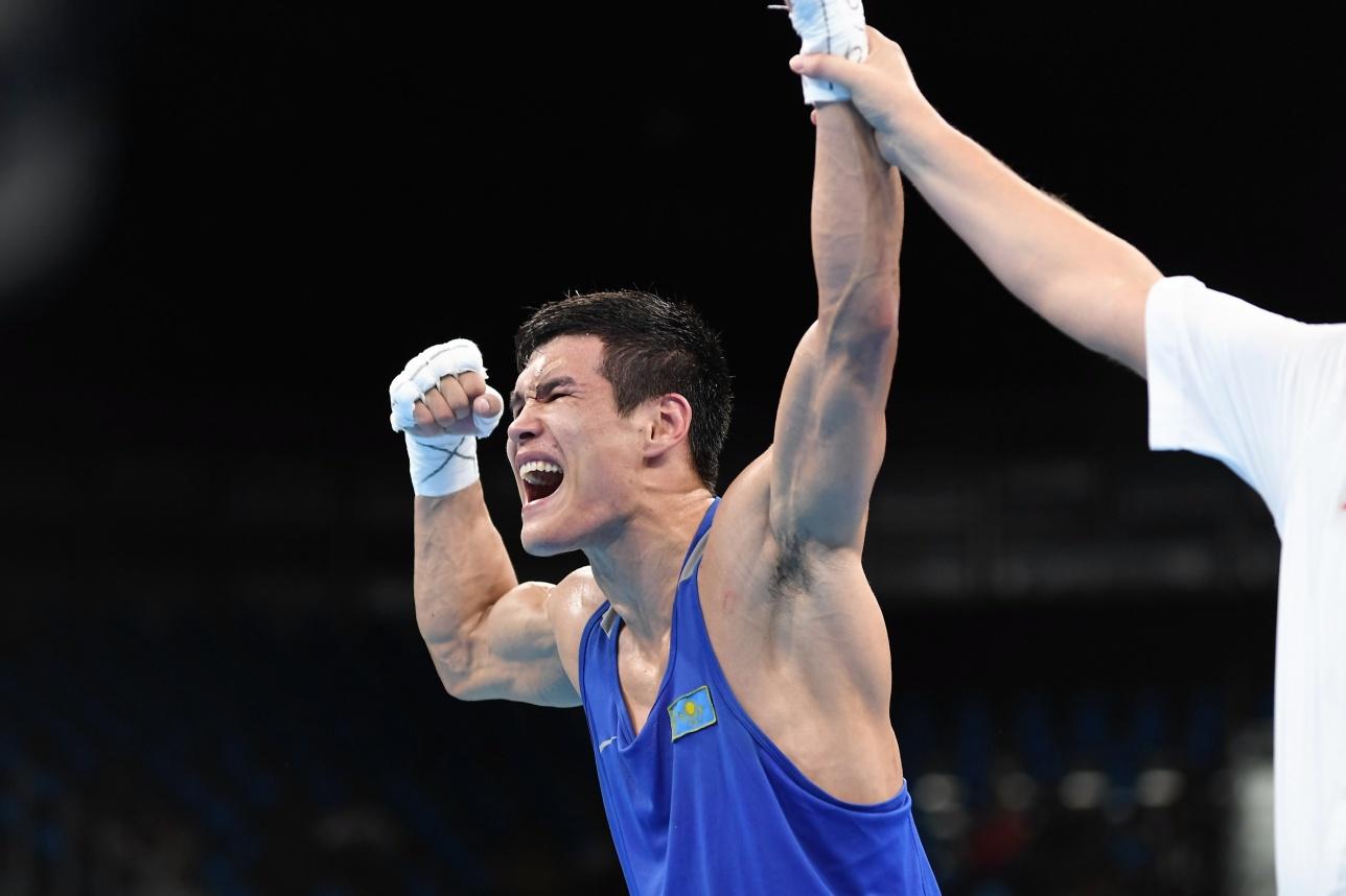 Поэтому стал олимпийским чемпионом...