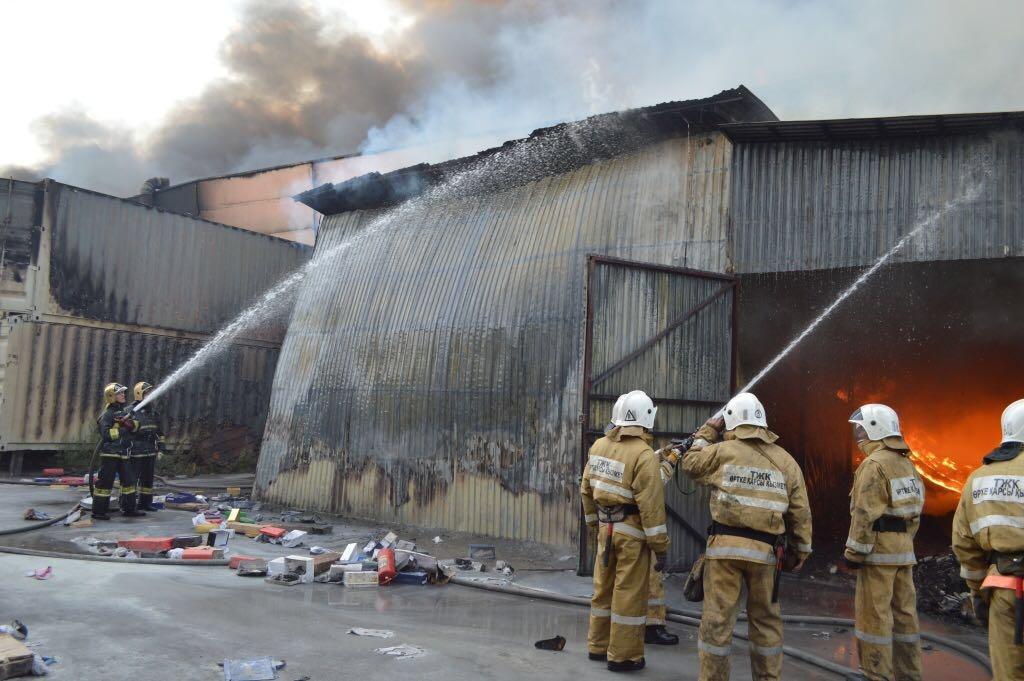 Общими усилиями пожар был локализован