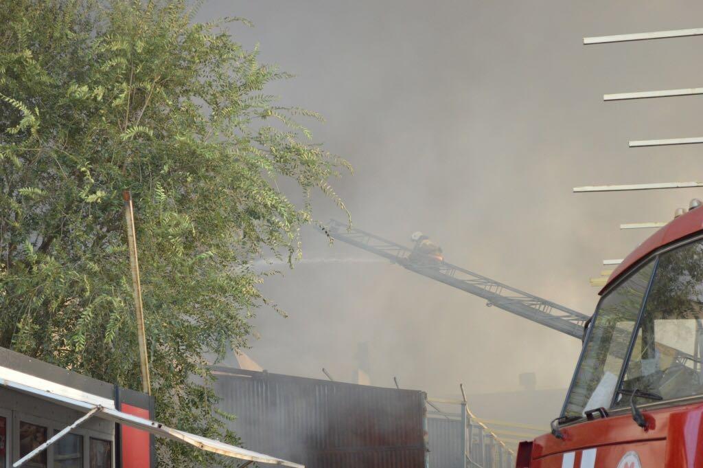К тушению пожара было задействовано 360 человек