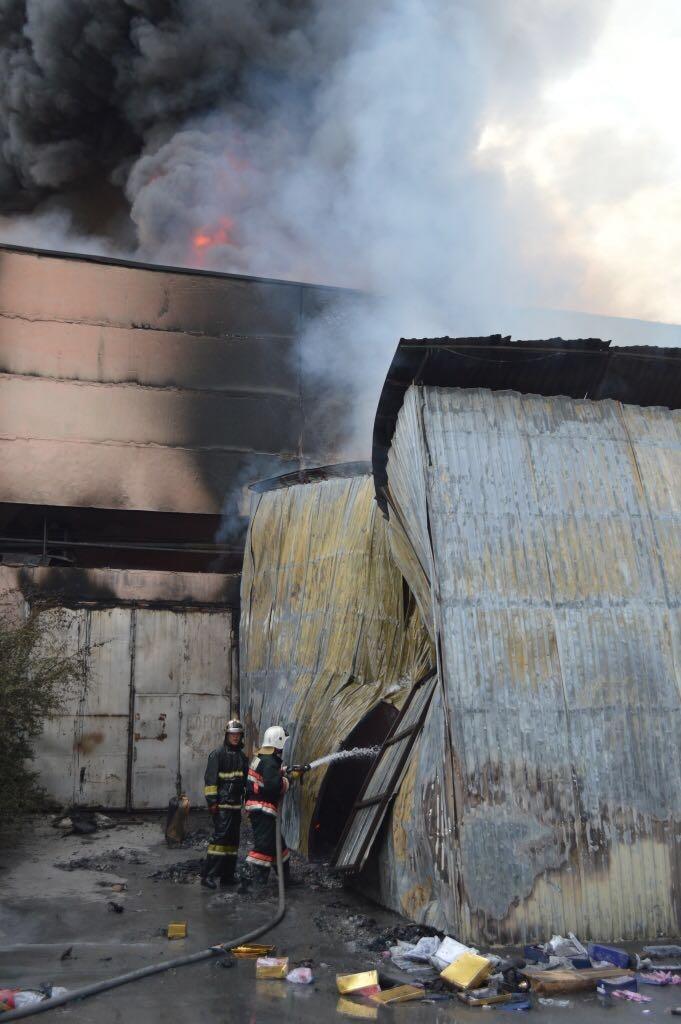 Пожарные расчёты прибыли на место уже через семь минут после поступления вызова