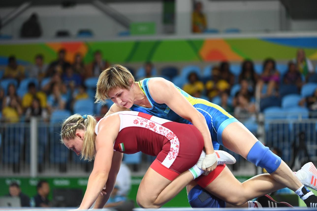 Поэтому на свой стартовый поединок Гузель вышла как на последний бой и досрочно победила венгерку Жанет Немет - 12:2