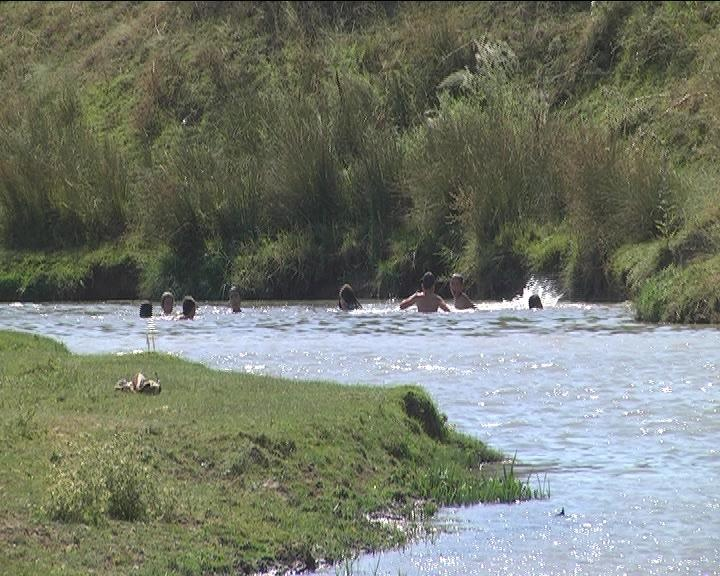 Речка, где, по мнению полиции, утонул мальчик