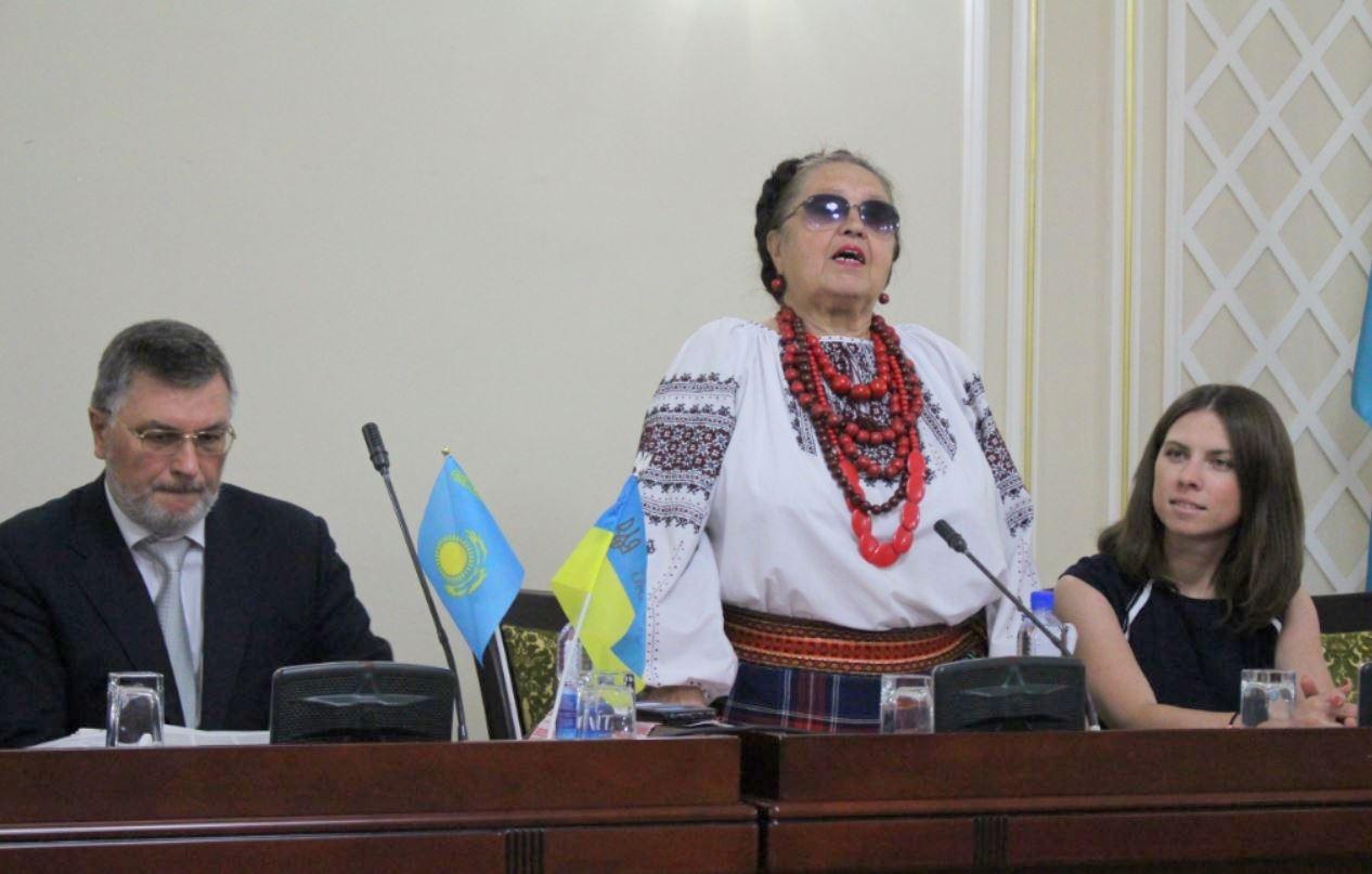 Посольство Украины организовало празднование дня независимости