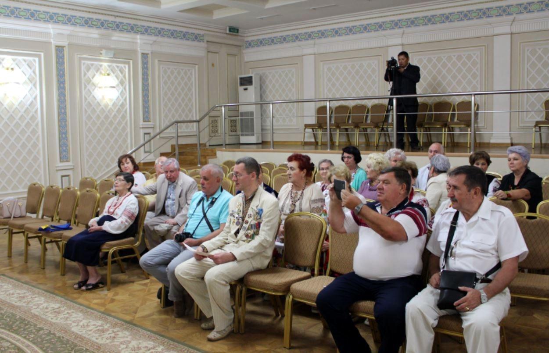 Гости праздника независимости Украины