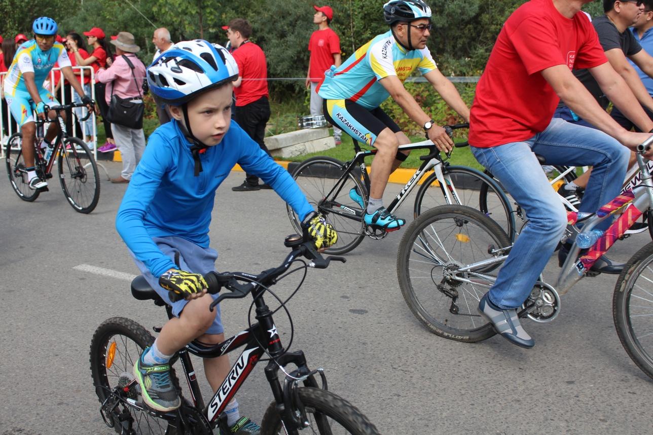 Возраст участников велопробега не имеет значения