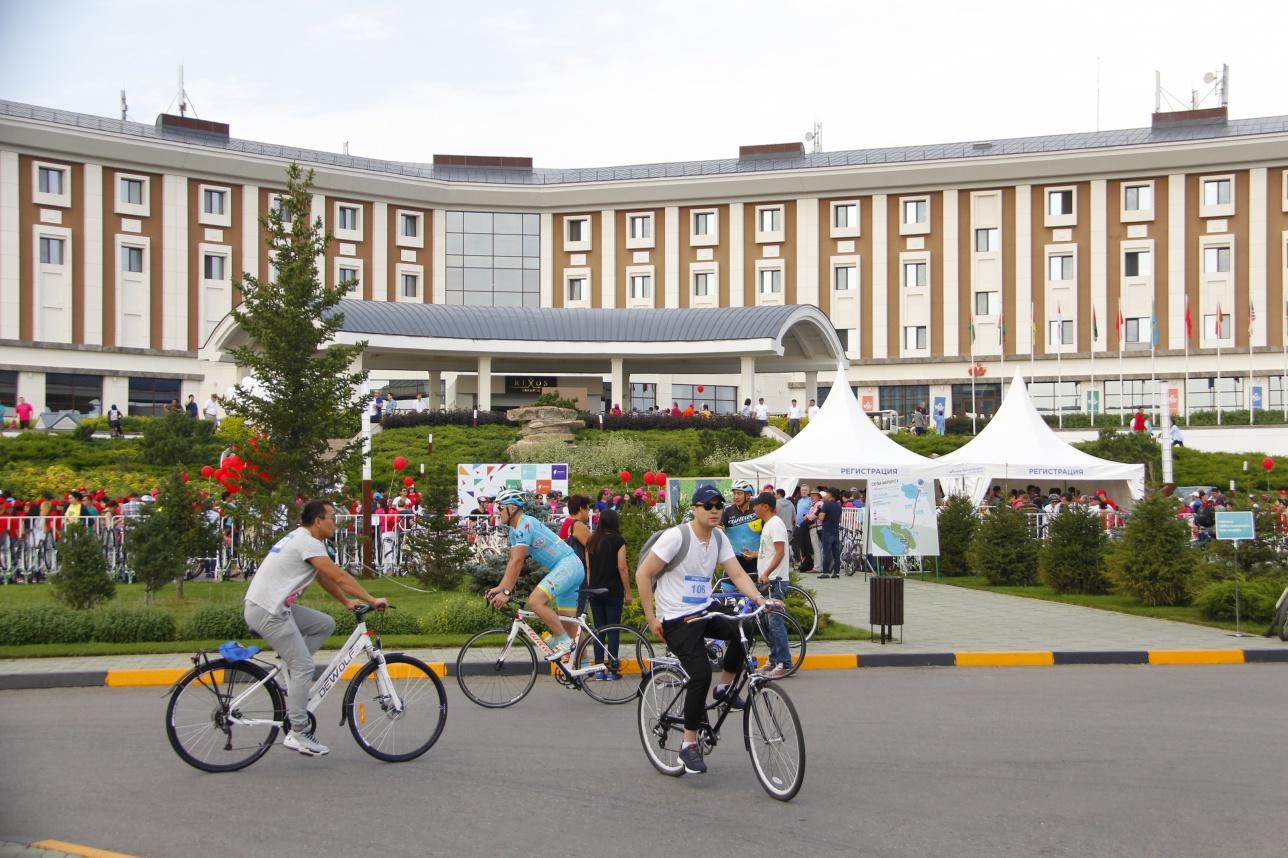 Велопробег Charity tour de Burabay