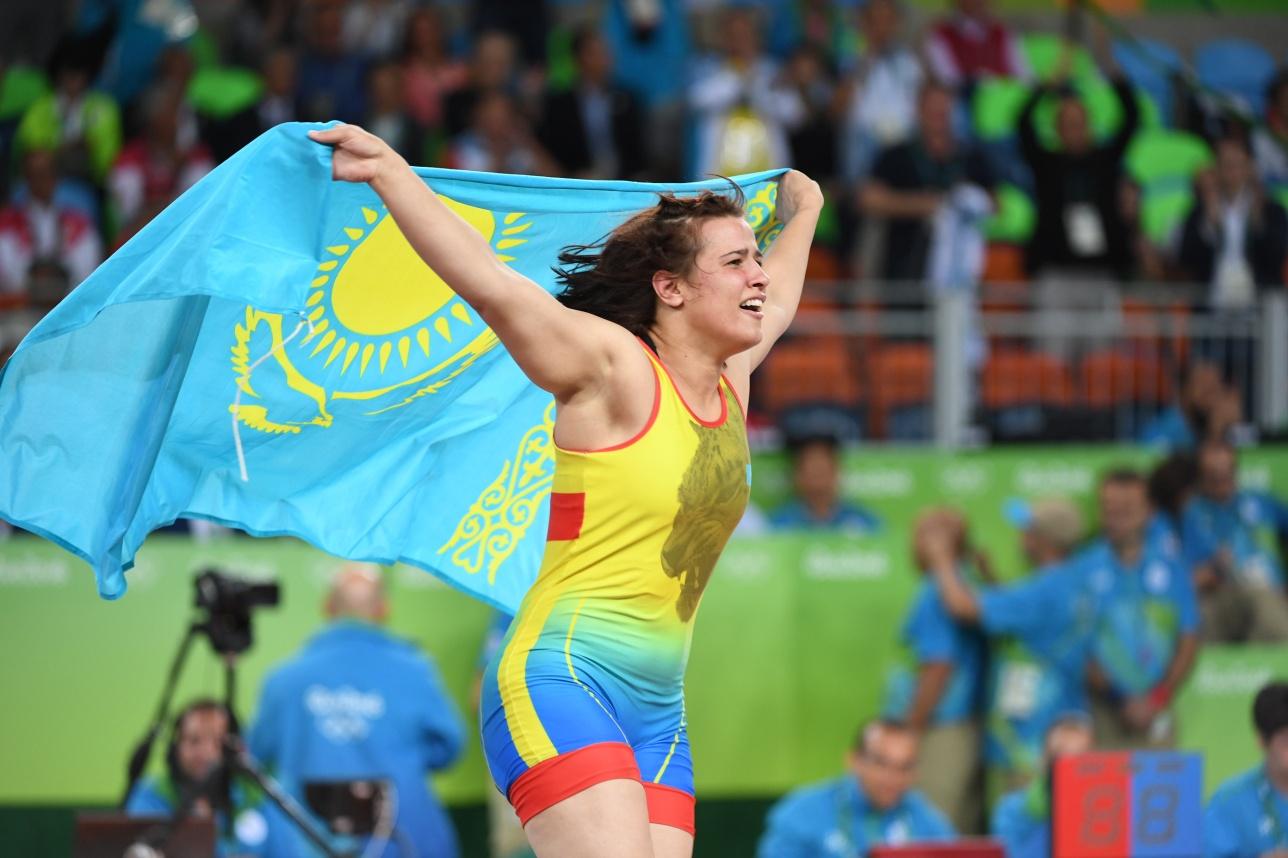 Екатерине Ларионовой крупно повезло на Олимпиаде, однако свою бронзовую медаль она выиграла красиво
