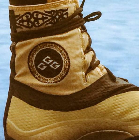 Jordan Brand выпустили боксёрки с казахским национальным орнаментом для GGG