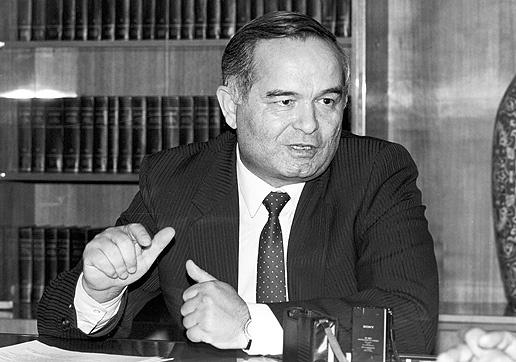 Ислам Каримов в первые годы своего президентства