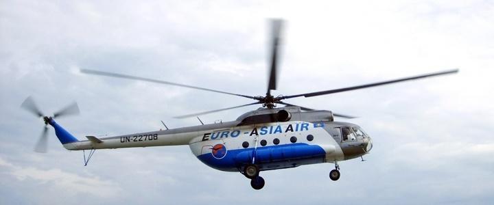 Комиссия выясняет причины крушения вертолёта
