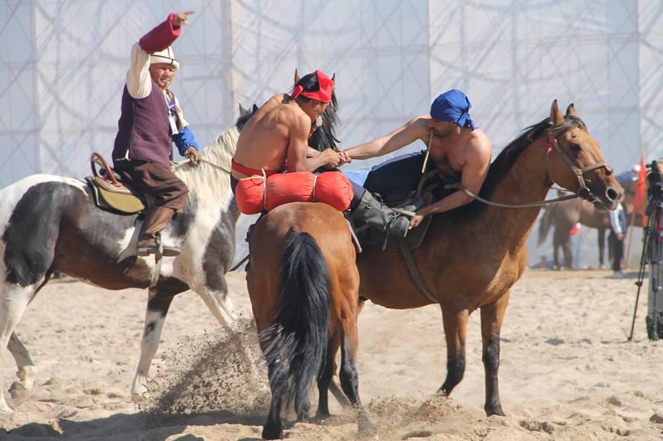 Казахстан занял третье место на играх кочевников