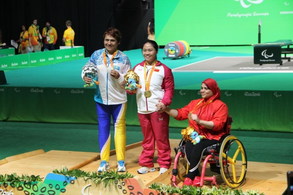 На пьедестале почёта в Рио