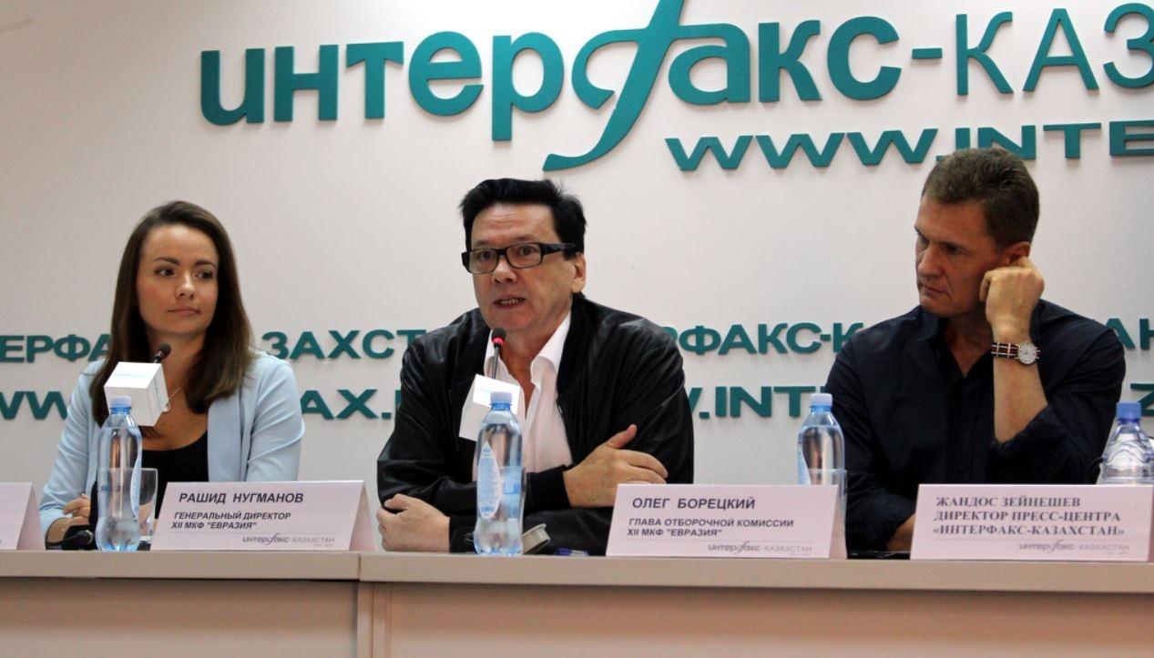 """Организаторы кинофестиваля """"Евразия"""""""