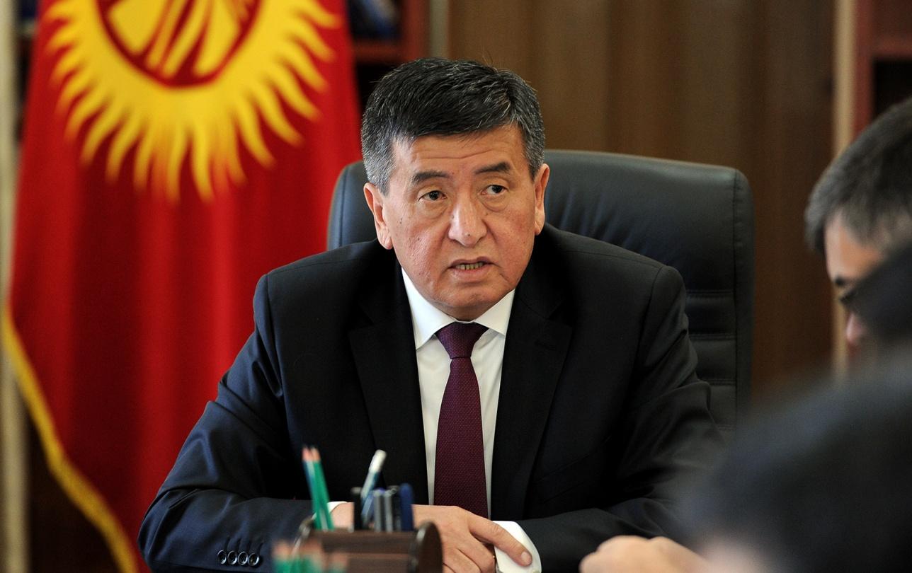 Премьер-министр Кыргызстана Сооронбай Жээнбеков