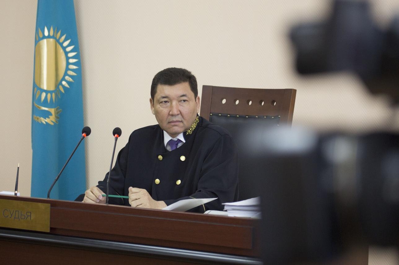 Судья Акболат Курмантаев