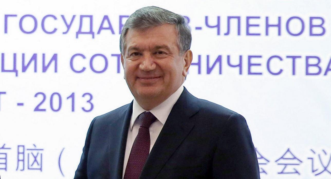 Врио президента Узбекистана Шавкат Мирзиёев