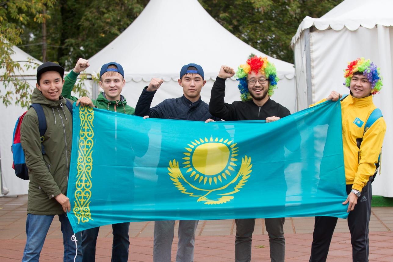 Казахстанские болельщики