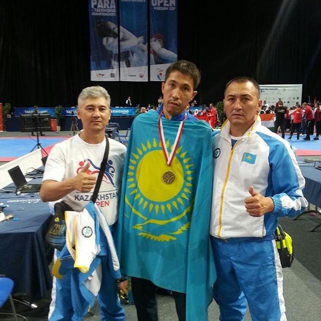Сборная Казахстана завоевала две золотые медали