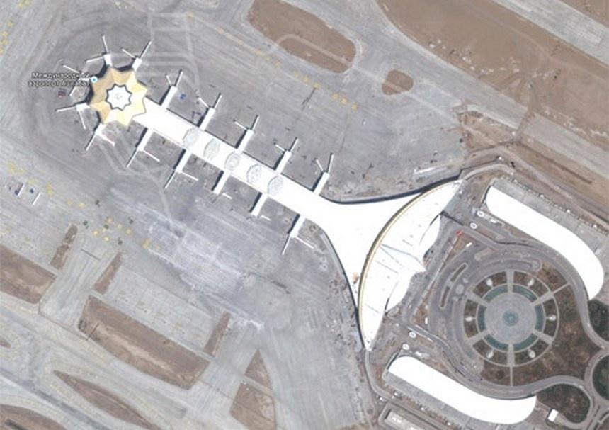 Новый терминал оснащён 28 телескопическими трапами