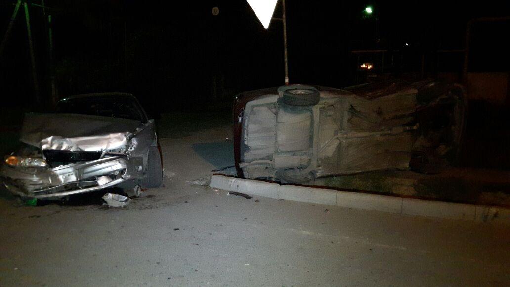 Несмотря на серьёзные повреждения авто, водитель Volkswagen не пострадал