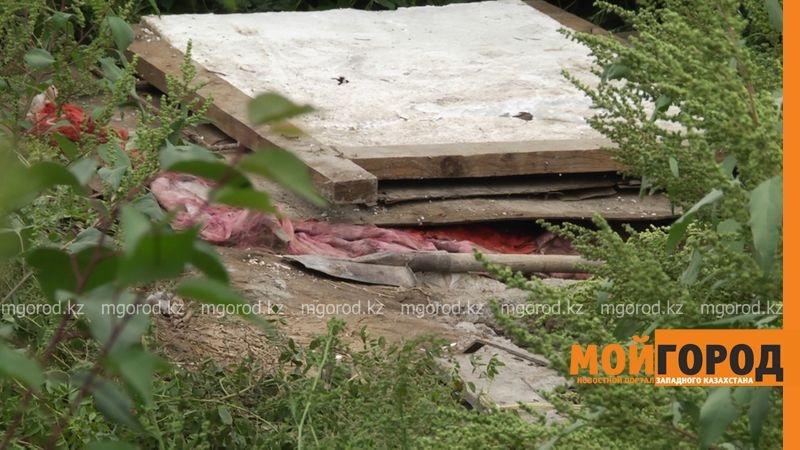 В Уральске нашли забетонированный в погребе труп