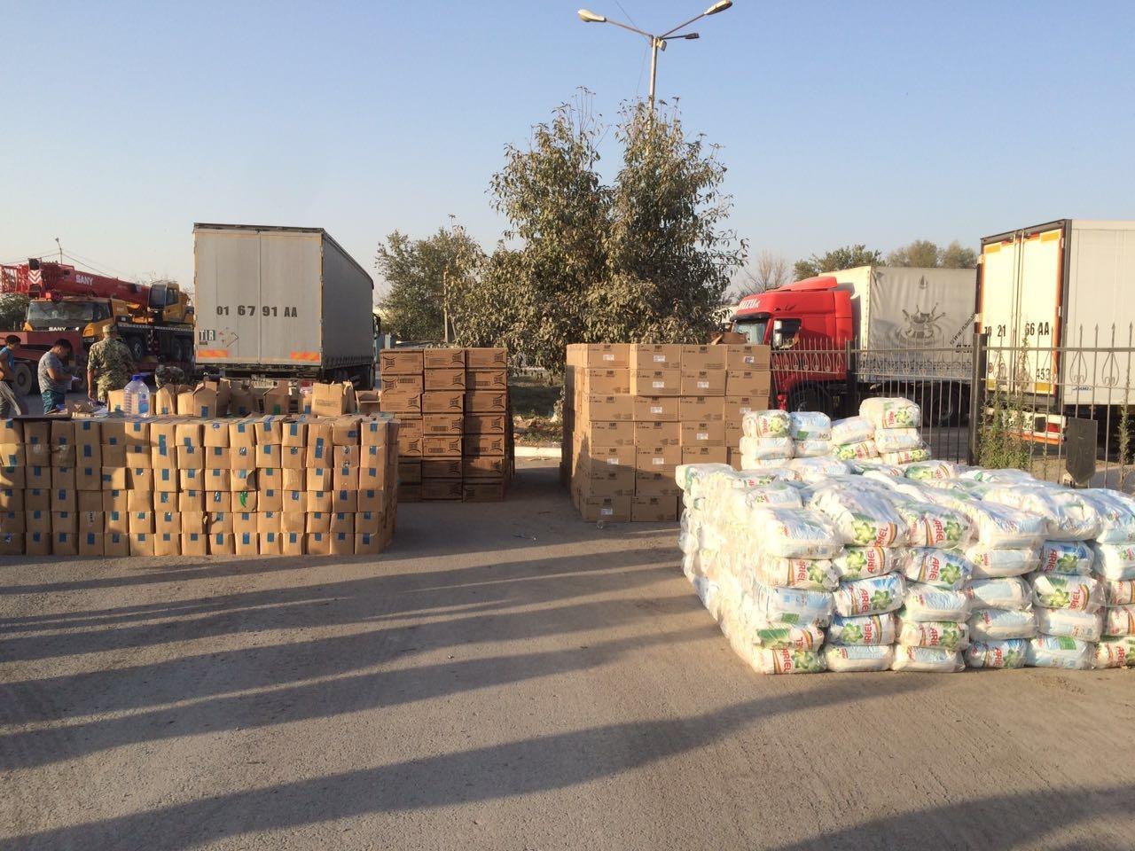 Крупную партию контрабанды задержали на узбекской границе