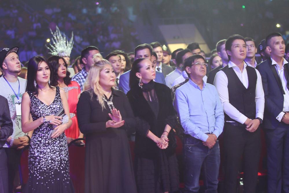 В первом ряду неизменно сидела Баян Есентаева