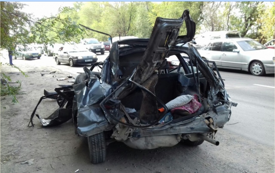 У водителя Toyota не было шансов выжить