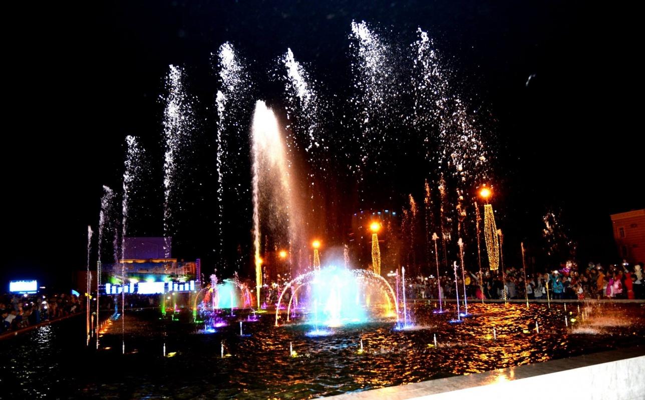 Стоимость фонтана - 196 млн тенге