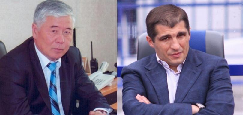 Калмухамет Донсебаев и Омари Тетрадзе