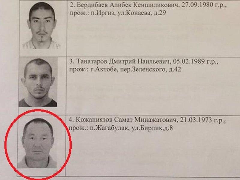 Самат Кожаниязов оказался в списках террористов