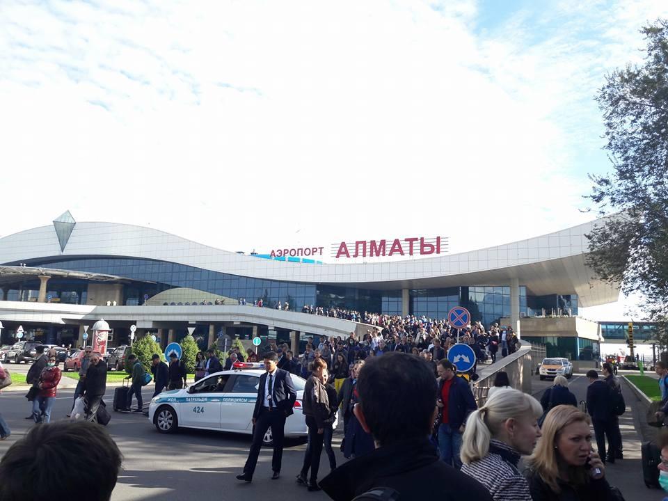 Работа аэропорта восстановлена
