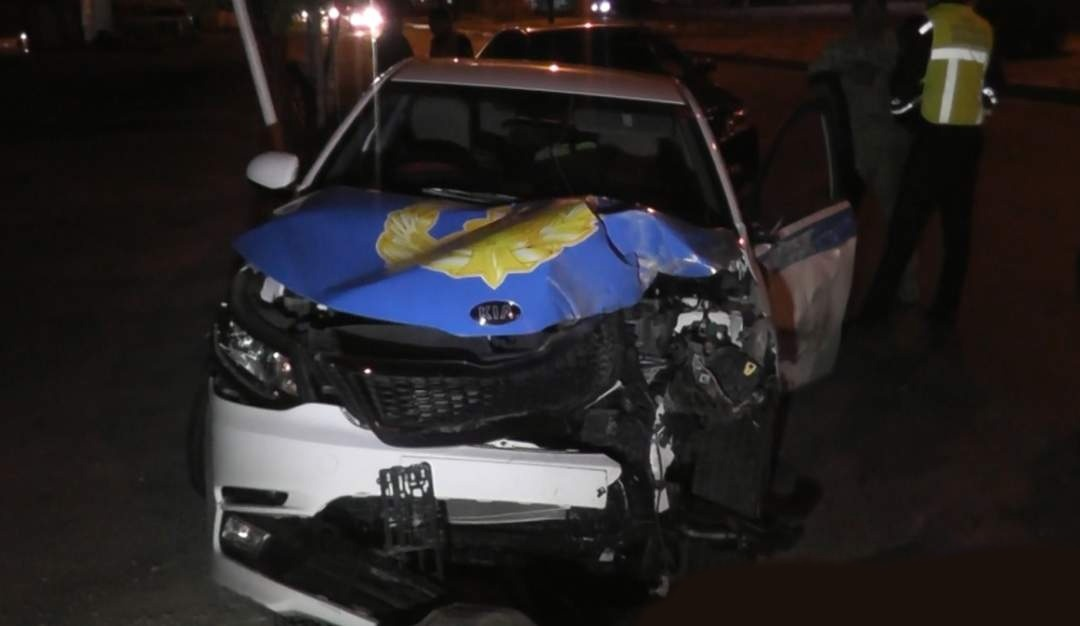 ДТП с участием полицейской машины