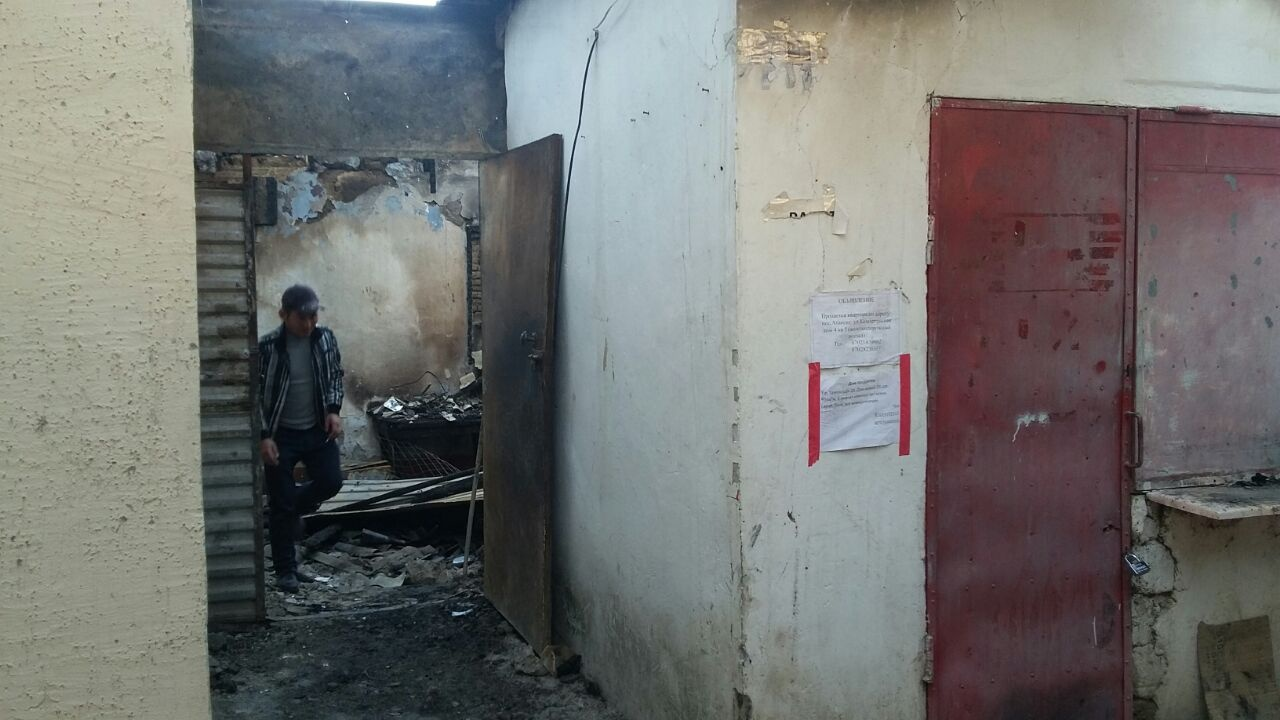 В бараке сгорело всё, что было у многодетной семьи