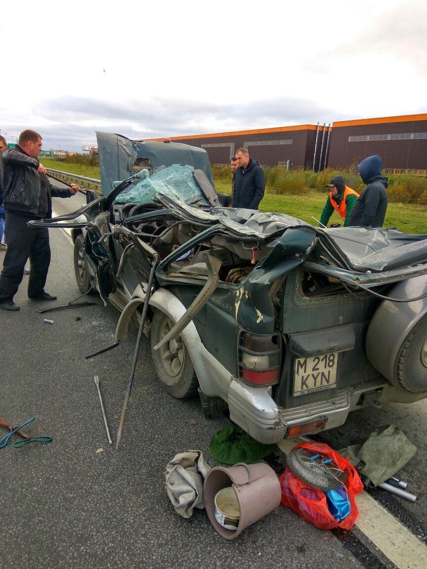 Водитель чудом остался жив, отделавшись несколькими травмами