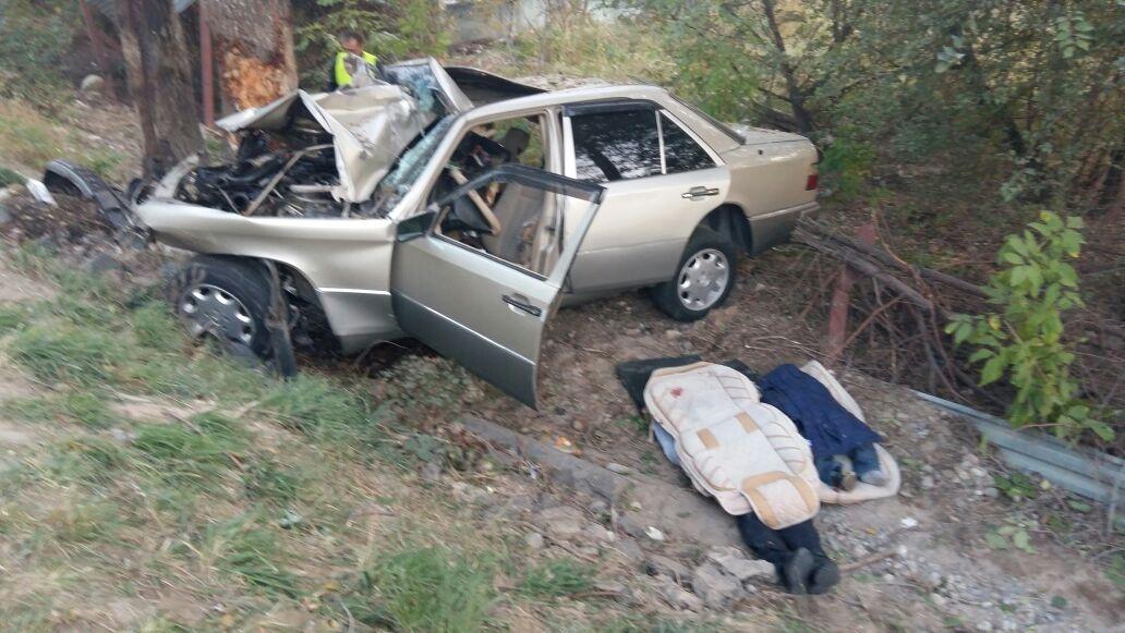 Молодой отец и его трёхлетний сын погибли на месте